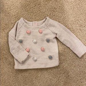 Cat & Jack Pom Pom Sweater